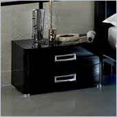 camelgroup LaStar Maxi Nightstand in Black