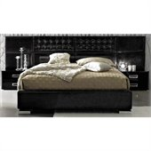 camelgroup LaStar Moon Bed in Black