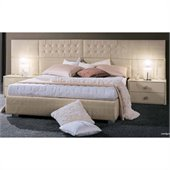 camelgroup LaStar Moon Bed in Ivory