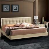 camelgroup LaStar Plano Bed in Ivory
