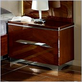 camelgroup Matrix Nightstand in Dark Walnut