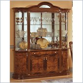 camelgroup Milady 4 Door China Cabinet in Walnut