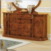 camelgroup Milady Double Dresser in Walnut