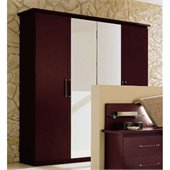 camelgroup Miss Italia 4 Door Wooden Wardrobe in Matte Lacquer