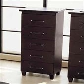 camelgroup Miss Italia 5 Drawer Chest in Matte Lacquer