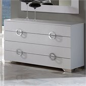 Dupen Coco Dresser in White
