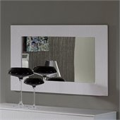 Dupen Coco Mirror in White