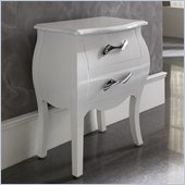 Dupen Nelly Nightstand in White