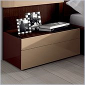 Benicarlo Maya Nightstand in Dark Wenge