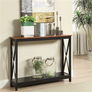 Convenience Concepts Oxford Console Table in Cherry