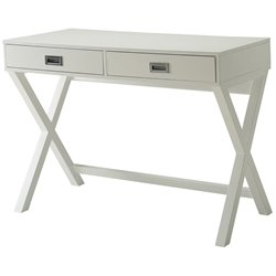 Convenience Concepts Designs2Go Landon Writing Desk in White