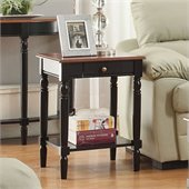 Convenience Concepts French Country Square End Table