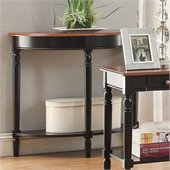 Convenience Concepts French Country Demilune Console Table