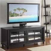 "Convenience Concepts French Country 48"" TV Cabinet in Black"
