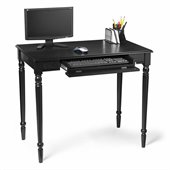 Convenience Concepts French Country Desk in Black