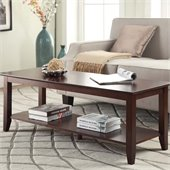 Convenience Concepts American Heritage Coffee Table in Espresso