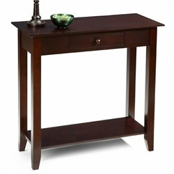 Convenience Concepts American Heritage Hall Table in Espresso