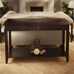 Convenience Concepts American Heritage Console Table in Espresso