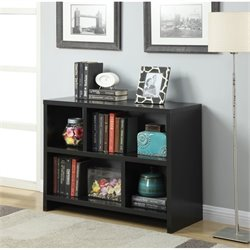 Convenience Concepts Northfield Bookend Console Table in Espresso