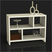 Convenience Concepts Northfield Bookend Console Table in White