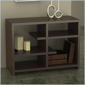 Convenience Concepts Northfield Floating Bookshelf in Espresso