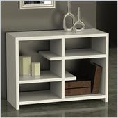 Convenience Concepts Northfield Floating Bookshelf in White