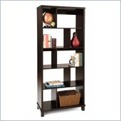 Convenience Concepts Northfield 5 Tier Bookshelf in Espresso