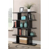 Convenience Concepts Northfield Block Bookshelf in Espresso