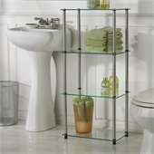 Convenience Concepts Classic Glass 4 Tier Tower 