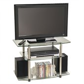 Convenience Concepts Classic Glass 32 TV Stand