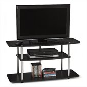 Convenience Concepts Designs2Go™ Wide 3-Tier TV Stand in Black