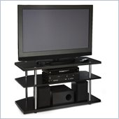 Convenience Concepts Designs2Go™ Corner TV Stand in Black