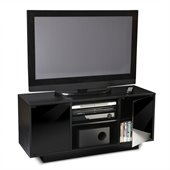 Convenience Concepts Designs2Go Monte Carlo TV Stand in Black