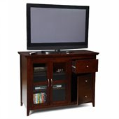 Convenience Concepts Designs2Go  Sierra Highboy TV Stand in Espresso