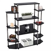 Convenience Concepts Designs2Go™ Wall Unit Bookshelf in Black