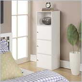 Convenience Concepts XTRA-Storage 3 Door Cabinet in White