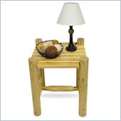 Convenience Concepts Santa Fe End Table in Pine