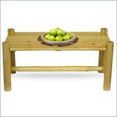 Convenience Concepts Santa Fe Coffee Table in Pine