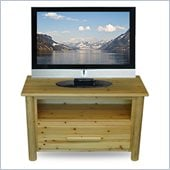 Convenience Concepts Santa Fe 42 TV Stand in Pine
