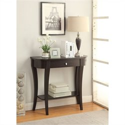 Convenience Concepts Newport Console Table - Espresso
