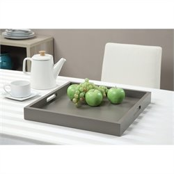 Convenience Concepts Palm Beach Tray - Gray