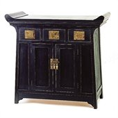 Wayborn Alter Cabinet in Antique Black