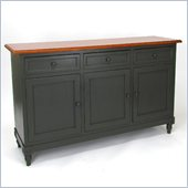 Wayborn Brookfield Console in Hunter Green/Honey Brown