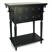 Wayborn Mentego Console  Table in Antique Black
