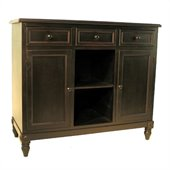 Wayborn Brookfield Sideboard in Antique Black