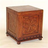 Wayborn Bamboo Trunk in Walnut