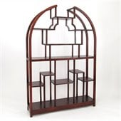 Wayborn Etagere 48 Display Unit in Dark Brown