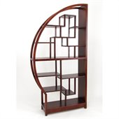Wayborn Etagere Half Moon in Dark Brown