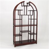 Wayborn Etagere 40 Display Unit in Dark Brown