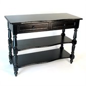 Wayborn Birchwood Sofa Table in Black